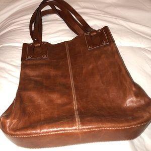 d77376718040 Peruzzi Firenze Bags - Peruzzi Firenze Fine Leather Italian Brown Purse